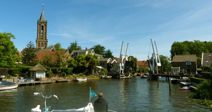 Hausbooturlaub Holland Loenen an der Vecht