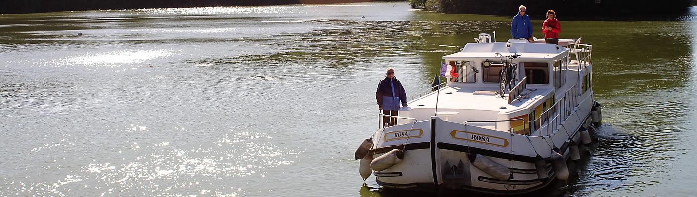 Hausbootfahren Mayenne