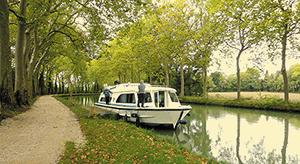 Hausboot mieten Canal du Midi führerscheinfrei fahren auf den schönsten Flüssen und Kanälen