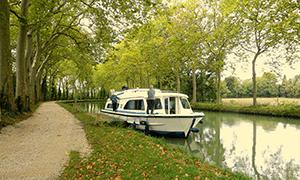 Canal du Midi Hausbooturlaub