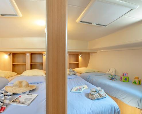 Hausboot Nicols Quattro Fly Kabinen