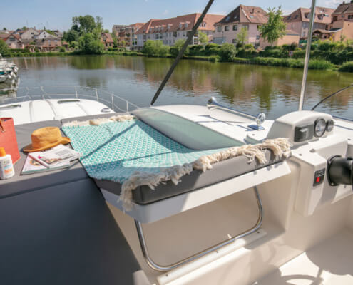 Hausboot Nicols Sixto Fly Sonnenliege