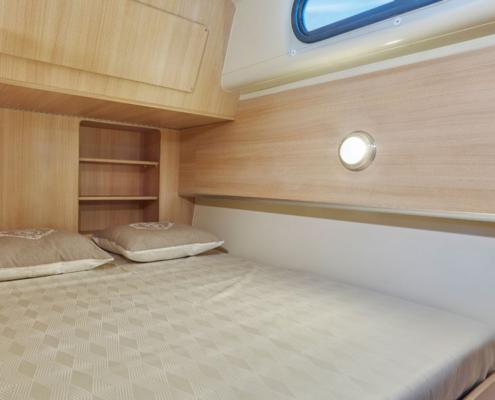 Hausboot Nicols Sixto Green Doppelkabine