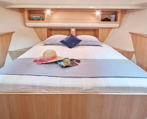 Hausboot Nicols Sixto Fly Bugkabine