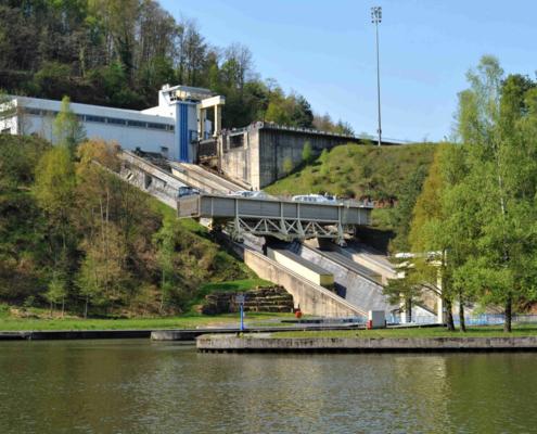 Schiffshebewerk in Arzviller Elsass