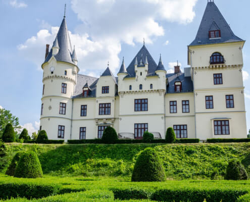 Schloss Andrassy in Tiszadob