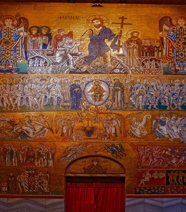 Torcello Kirche schöne Gemälde