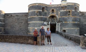Burg Angers an der Mayenne