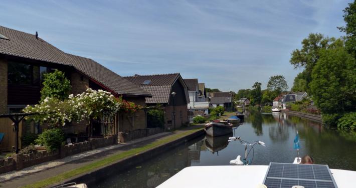 Hausboot fahren Holland Woerden
