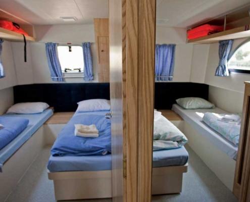 Heck-kabine einer Calypso