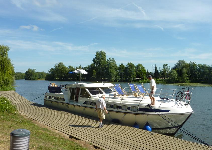 Hausboot in Scey sur Saône