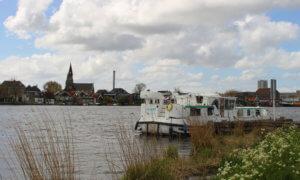 Hausboot Anlegestelle Museumsdorf Zaanse Schans