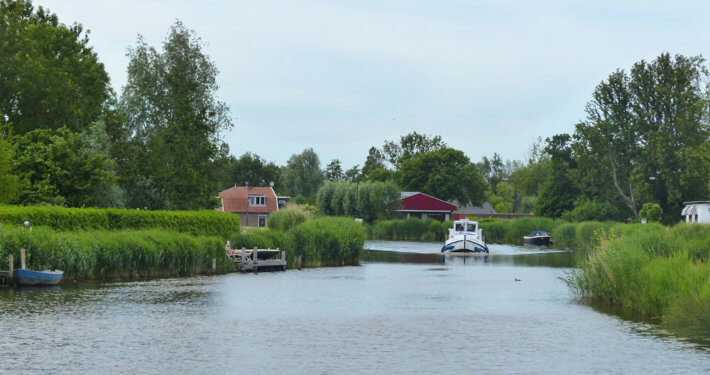 Hausboot Penichette in Holland