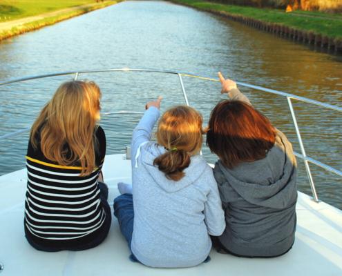 Hausbootfahren im Elsass