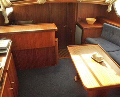Hausboot Friesland Archipel Wohnraum