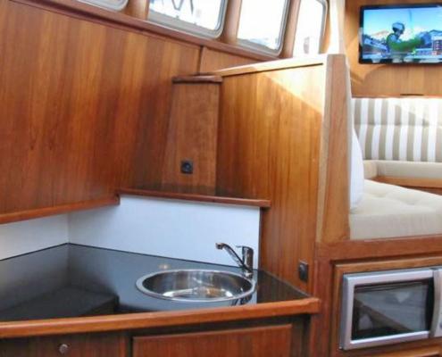 Hausboot Holland Danny Küche