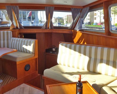 Hausboot Holland Danny Wohnraum