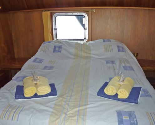 Hausboot Senna Elite Schlafkabine