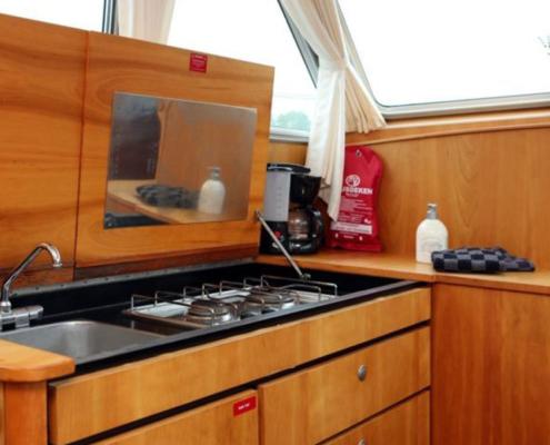 Hausboot Holland Linssen Küche