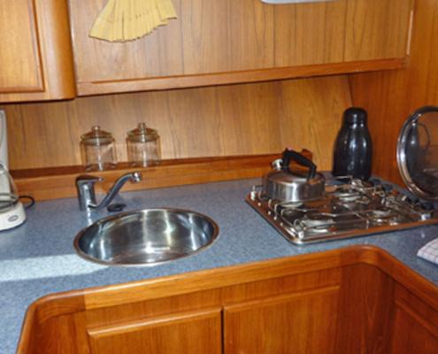 Hausboot Senna Elite Küche