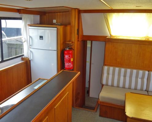 Hausboot Poseidon Küche