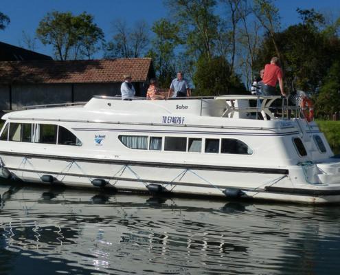 Hausboot Salsa Aussenansicht