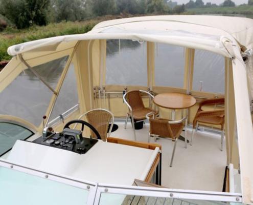 Hausboot Holland Linssen Außensteuer