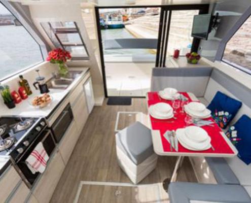 Horizon Salon und Küchenzeile