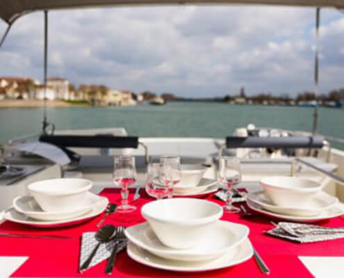 Horizon Tisch Außendeck