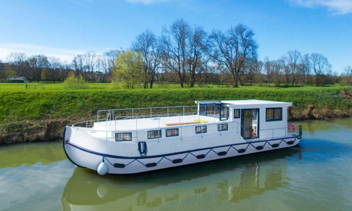 Hausboot La Péniche S elektrischer Antrieb
