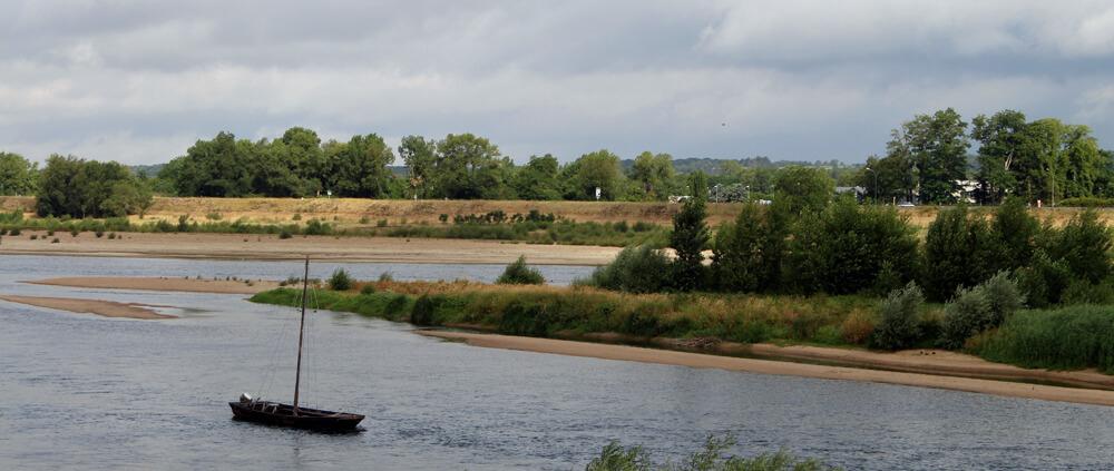 Die Loire bei Amboise