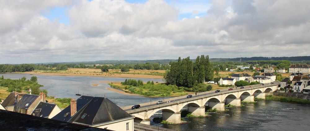 Die Loire Sandbänke