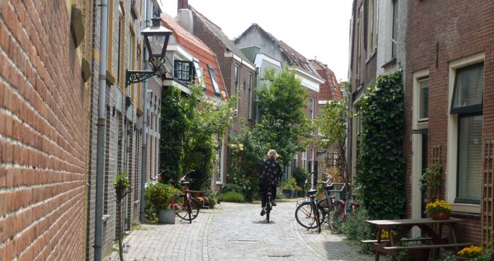 Hausboot fahren Holland Leiden