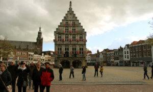 Marktplatz in Gouda Holland