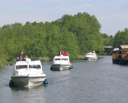 Boote in Mecklenburg