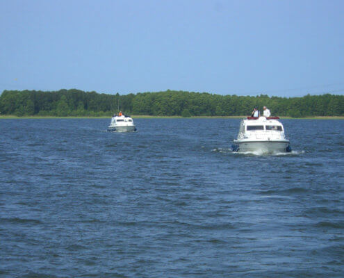 Ein Hausboot mieten Mecklenburgische Seenplatte