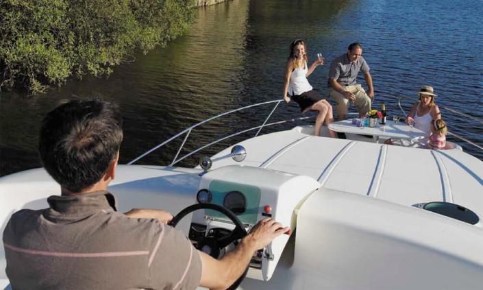 Hausboot Nicols Quattro Aussenbereich