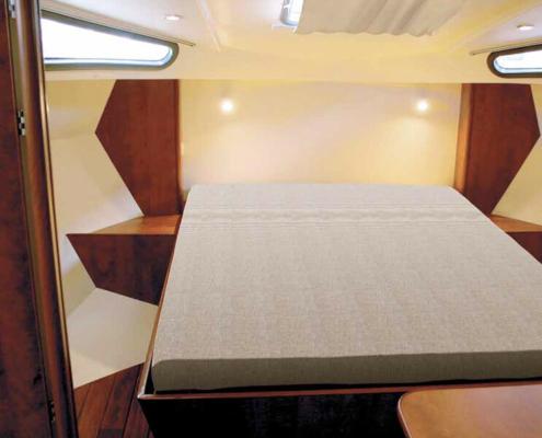 Hausboot Nicols Quattro S Schlafkabine