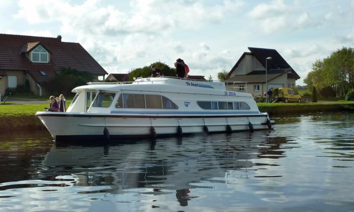 Hausboot Salsa im Elsass