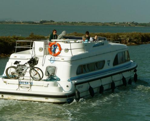 Hausboot Salsa in der Camargue