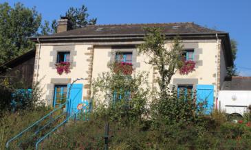 Schleusenhaus in der Bretagne