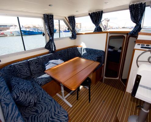 Hausboot TipTop Wohnraum