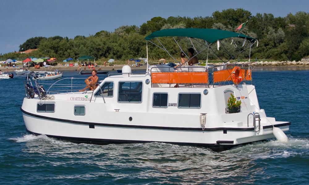 Toptip Esstisch ~ Tip Top  Hausboot in Italien mit 3 Kabinen