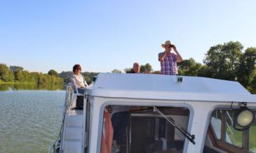 Hausboot mieten an der Mayenne in Frankreich