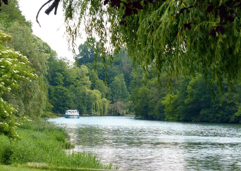 Hausboot Urlaub auf der Saône