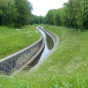 Canal vor dem Tunnel St. Albin