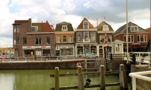 Weesp in Holland